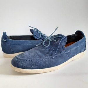 CLAE Men's Sz 8 Winston Blue Suede Leather